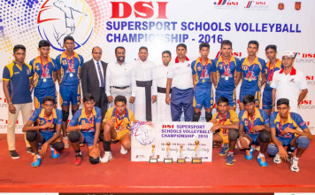 2016 DSI Super Sport Schools Volleyball Championship U-18 Boys