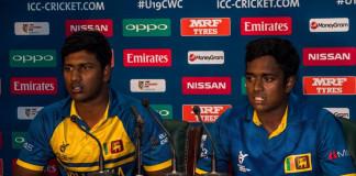 Three Sri Lanka Under 19 cricketers suspended