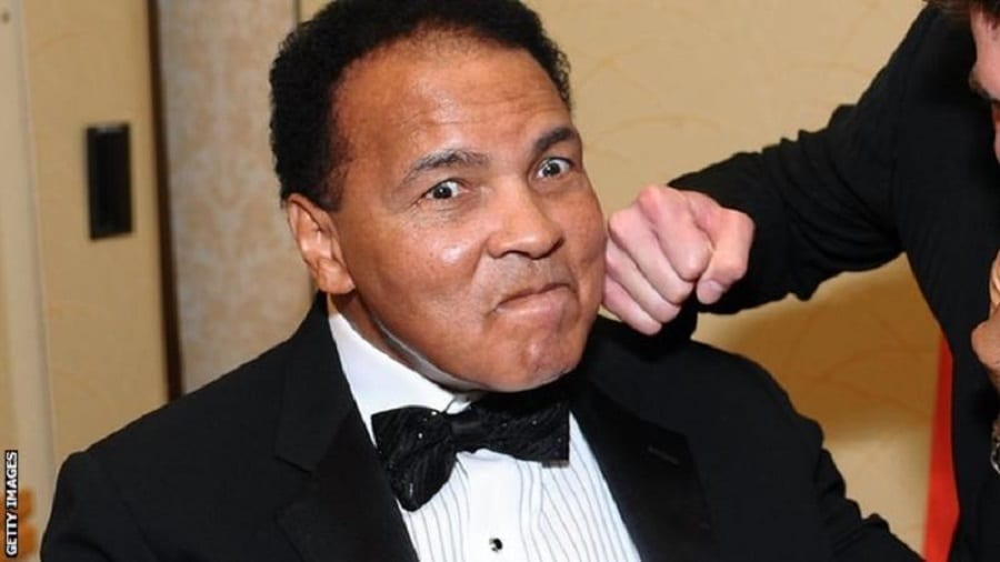 Muhammad Ali retired from boxing in 1981