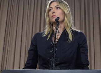 Russia's Sharapova is a five-time Grand Slam winner