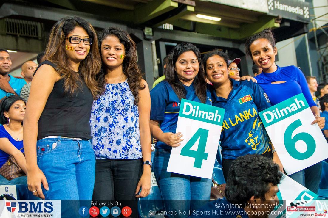 Sri Lanka Vs Australia - 2nd T20 - Fan Album