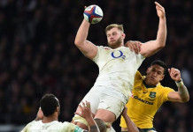 George Kruis has only recently recovered from a fractured cheekbone