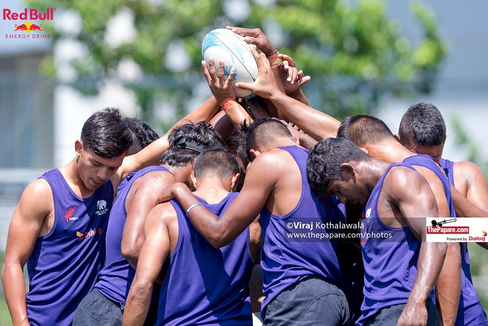 Sri Lanka U20 7's Final Practice Session in HK