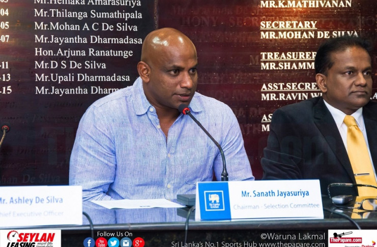 Sanath and Thilanga