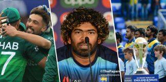 Pakistan cricket team and Sri lanka Team