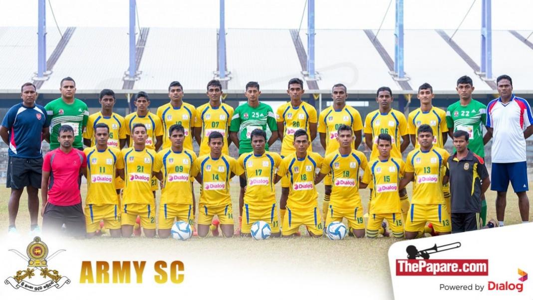 Army SC Football Team 2016