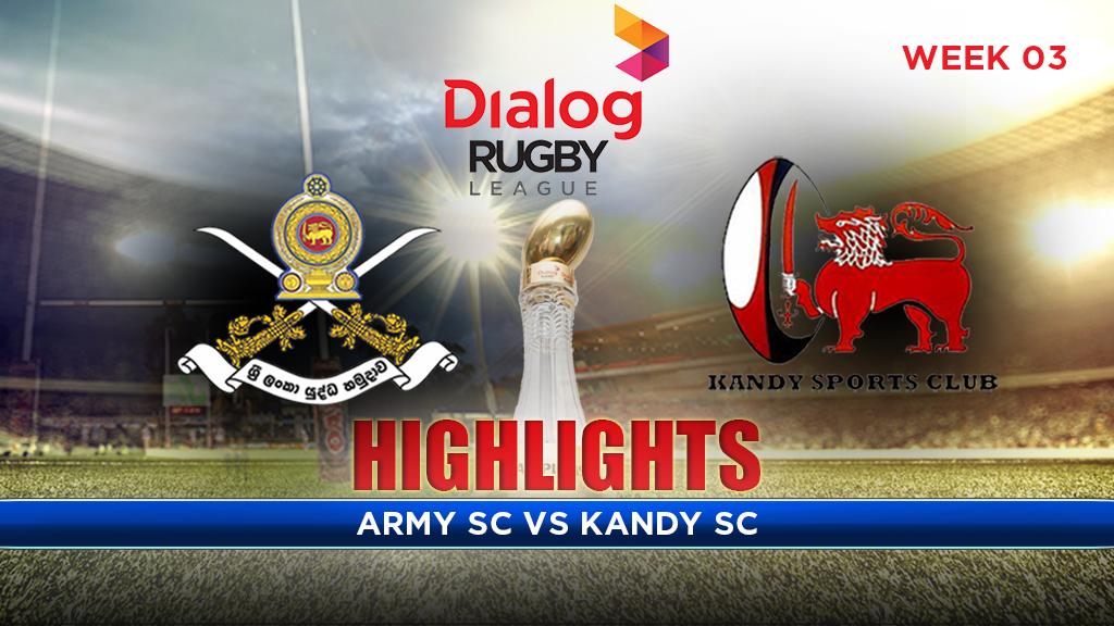 Highlights – Army SC v Kandy SC