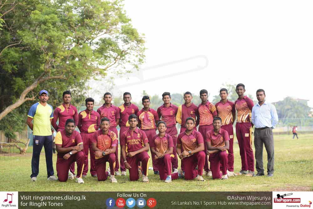 Presidents College Cricket Team 2018