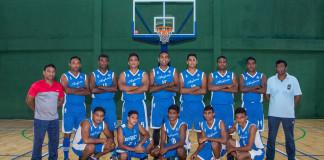 Air Force SC Men's Basketball Team 2017
