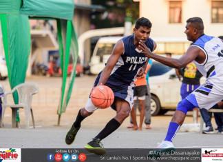 Air Force SC v Police SC - Basketball