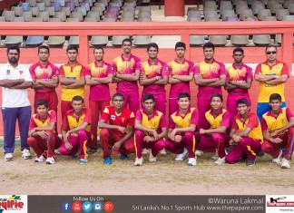 Ananda College Cricket Team 2017