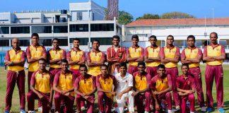 Ananda College Cricket Team 2018