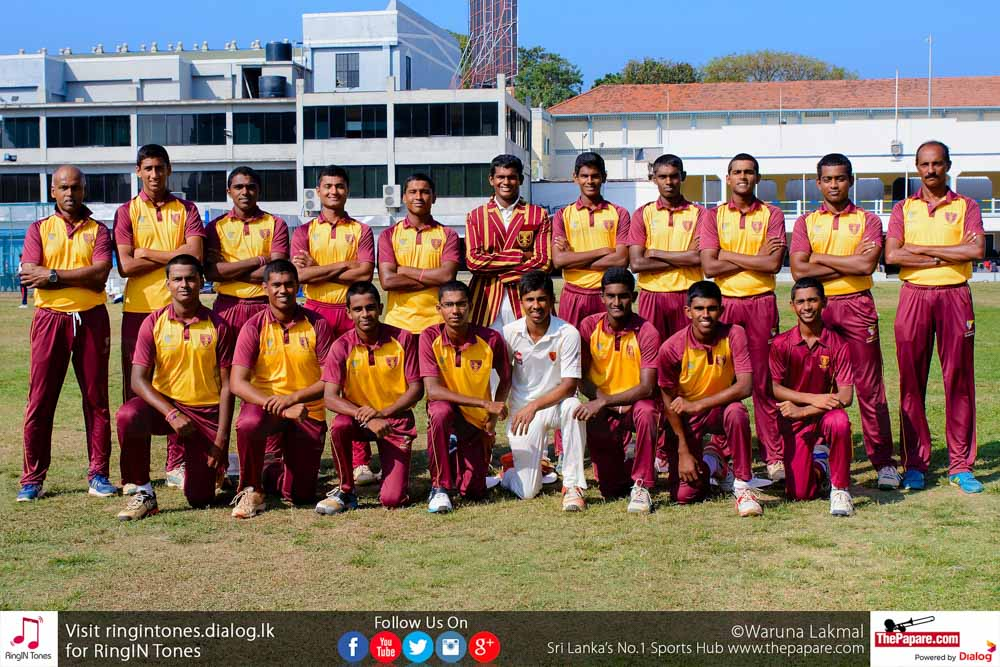 Ananda College Cricket Team 2018