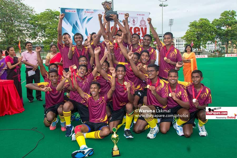 Ananda Hockey champions