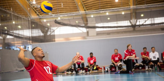 Disable volleyball championship