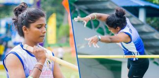Anitha break the First National record