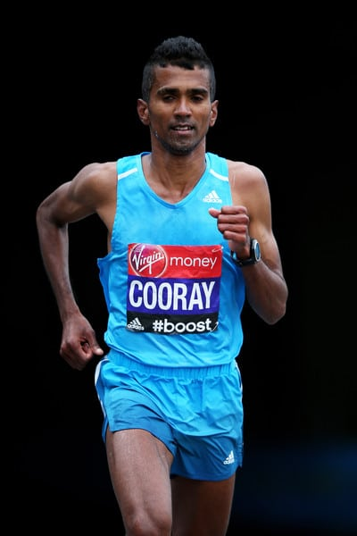 ndrajith Cooray betters his Olympic time