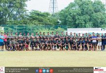 Army SC Rugby Team 2017-18
