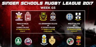 Singer Schools Rugby League – Preview Week 3