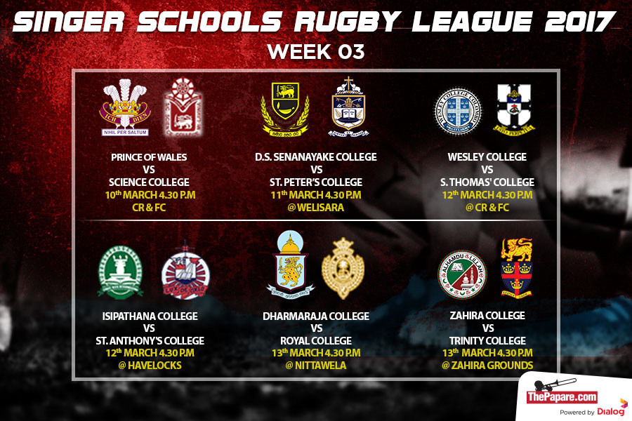 Singer Schools Rugby League – Preview Week 3