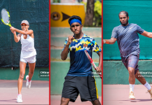 103rd Sri Lanka Nationals Tennis top performers