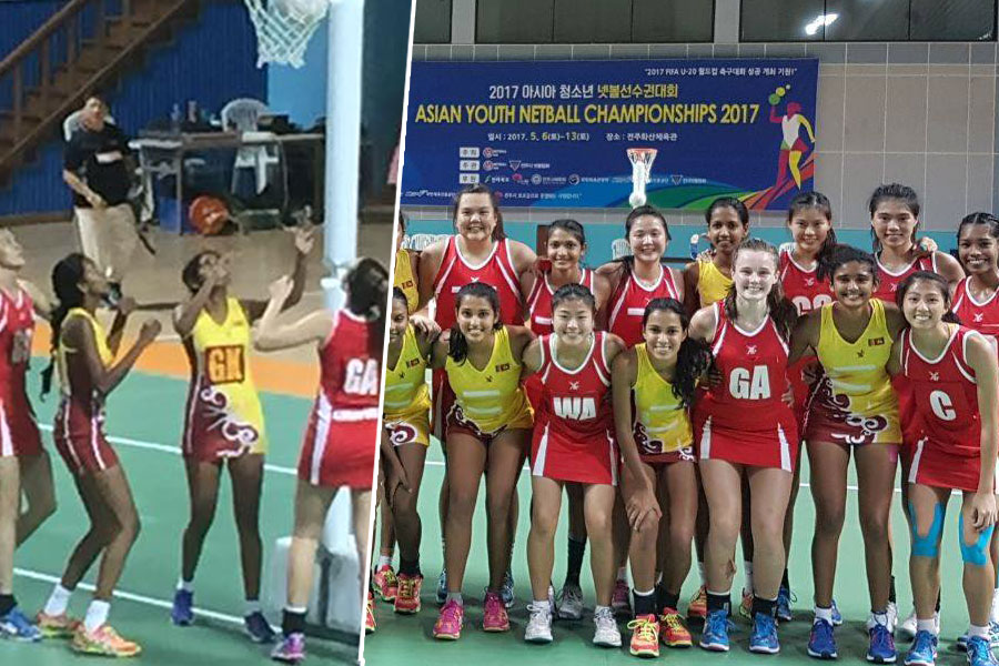 Singapore crush Sri Lanka in Asian Youth Netball semi-final