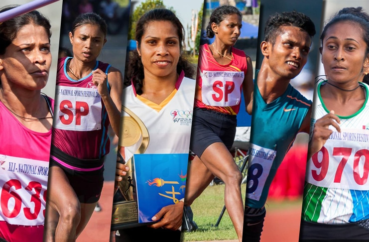 Record breakers from the 41st National Sports Festival