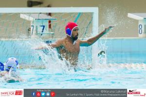 Avinda Caldera Goalkeeper Navy Water polo Nationals Finals
