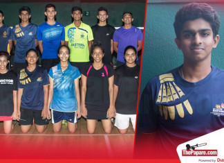 Sri Lankan Junior Shuttlers