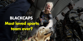 BLACKCAPS - Most loved sports team ever