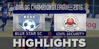 Highlights - Blue Star v Civil Security