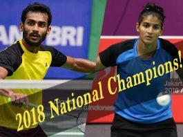 Badminton Nationals 2018