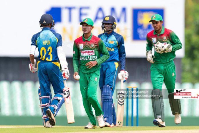Bangladesh U19 Tour of Sri Lanka