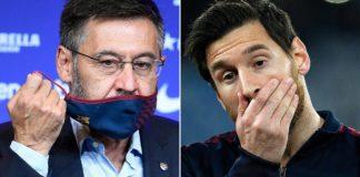 Barcelona president resigns