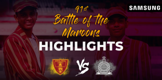 Battle of the maroons