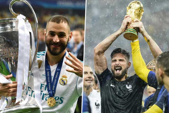 You don't Confuse Formula 1 with Karting Benzema to Giroud