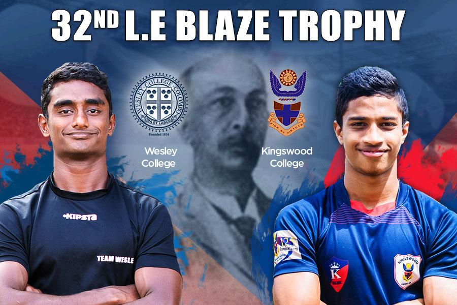 2nd L.E Blaze memorial trophy