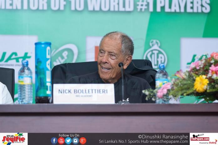 Tennis coach Nick Bollettieri