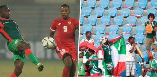 Burundi playing football amidst coronavirus