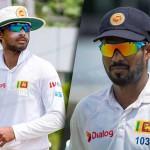 Dinesh Chandimal, the Test captain, and Upul Tharanga