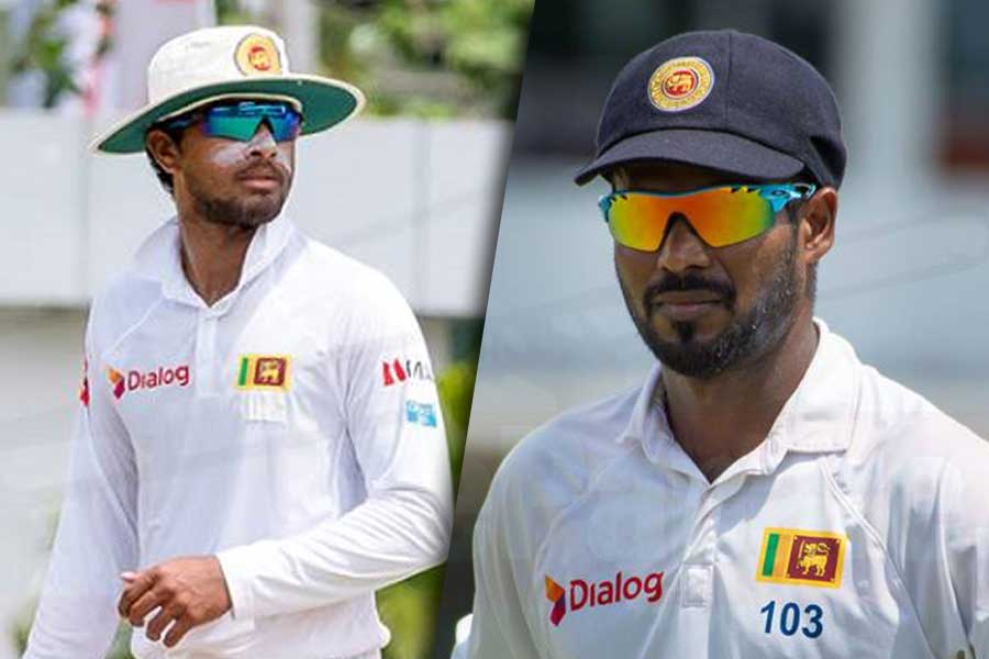 Dinesh Chandimal, the Test captain, and Upul Tharanga