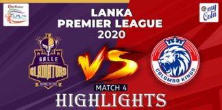 Colombo Kings vs Galle Gladiators
