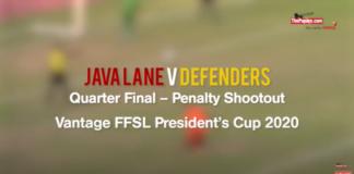 Java Lane v Defenders - (Penalty Shootout) FFSL President's Cup 2020
