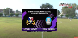 Highlights - Gateway v Lyceum Panadura - International Schools Football Final