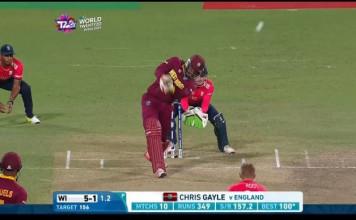 Chris Gayle Wicket