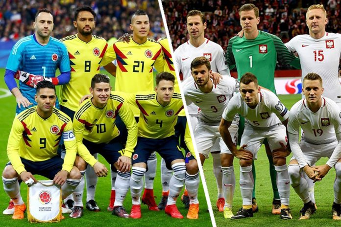 1901feeeec8 World Cup 2018  Preview – Poland   Colombia