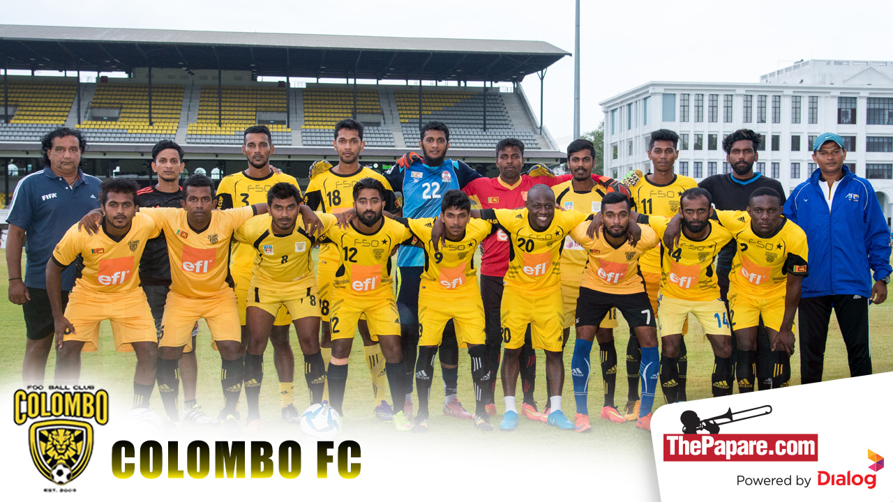 Colombo FC Team 2016