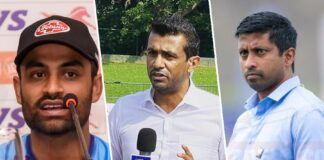 Arnold, Maharoof and Tamim