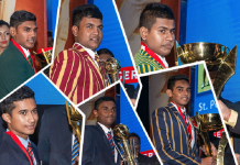 Charith Asalanka, St. Peter's and St. Sebastian's take top awards