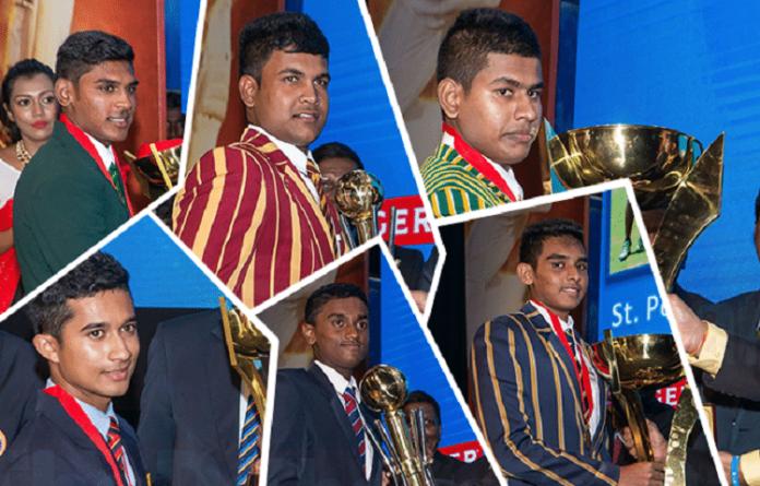Charith Asalanka, St. Peter's and St. Sebastian's take top awards